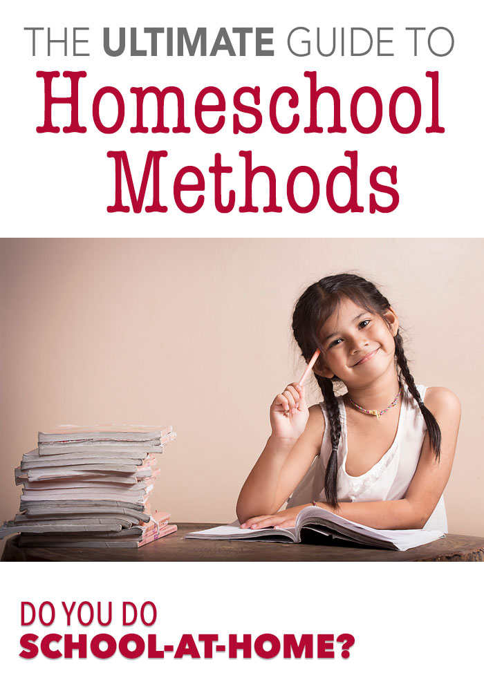 School-at-home: The Ultimate Guide to Homeschool Methods