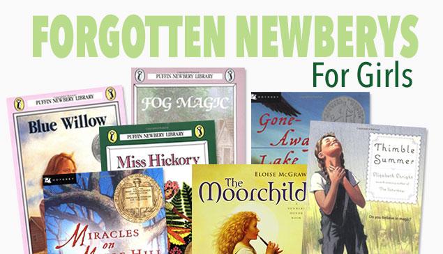 Forgotten Newberys For Girls Feature
