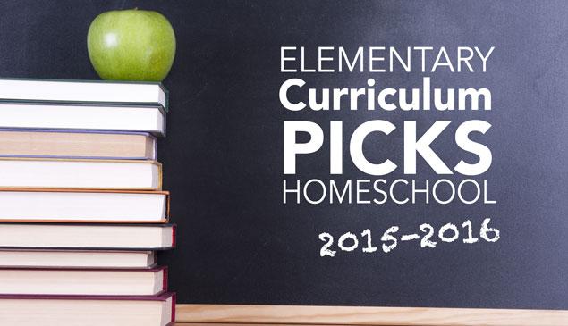 Jessica's Curriculum Picks for 2015-2016