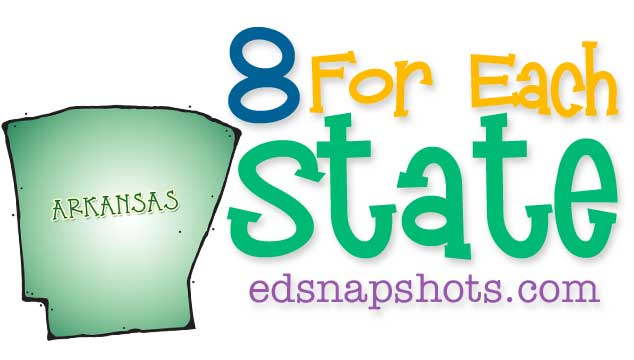 Eight for Each State – Arkansas