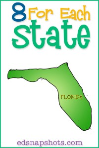 Eight for Each State Florida Us Geography Study