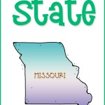 Eight for Each State Missouri Us Geography Study