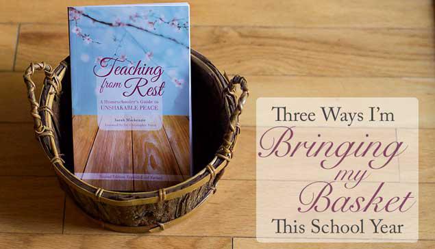 Three Ways I'm Bringing My Basket This School Year