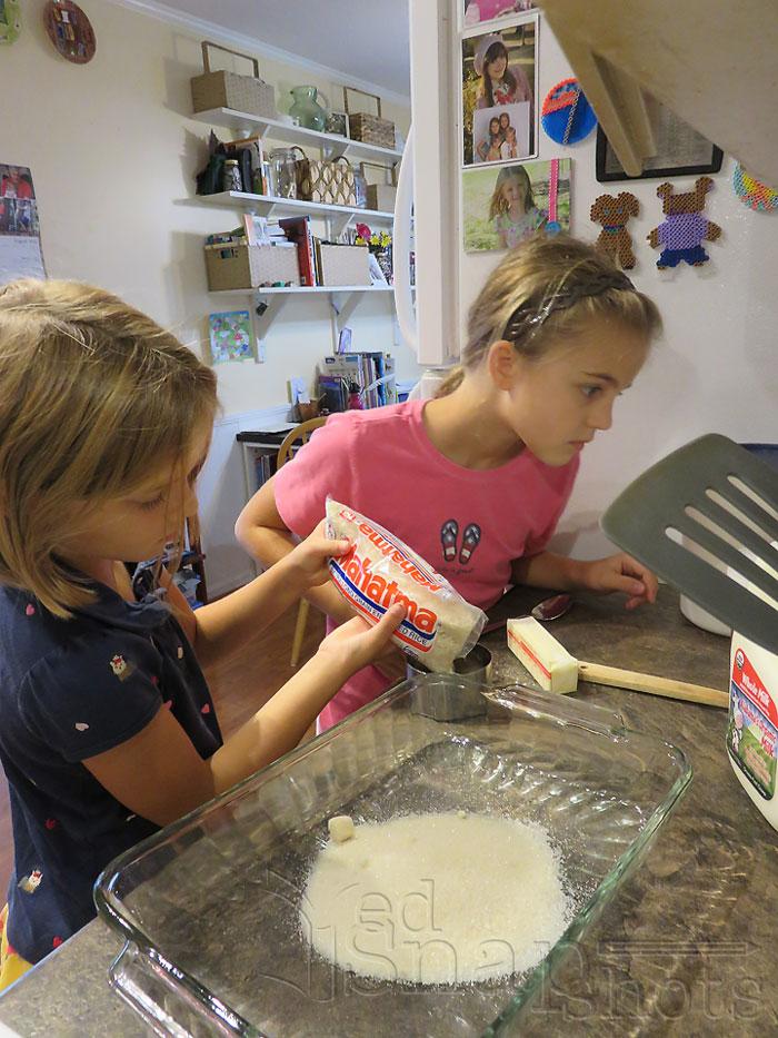 US Geography Arkansas Rice Pudding