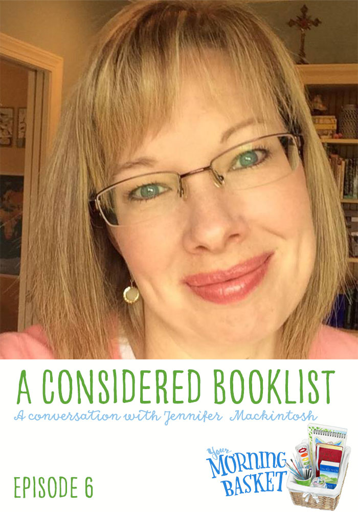 A Considered Booklist: A Conversation with Jennifer Mackintosh