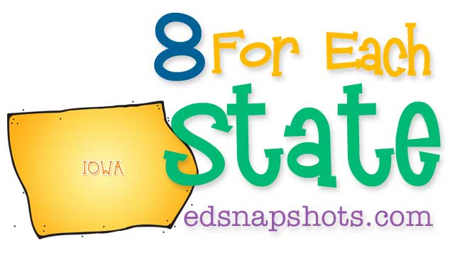 Eight for Each State – Iowa
