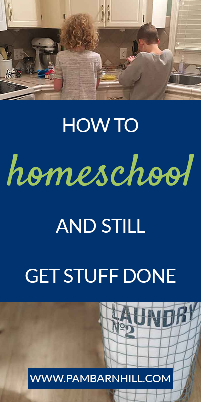 How to homeschool and still get (most) things done | Proactive Homeschooling