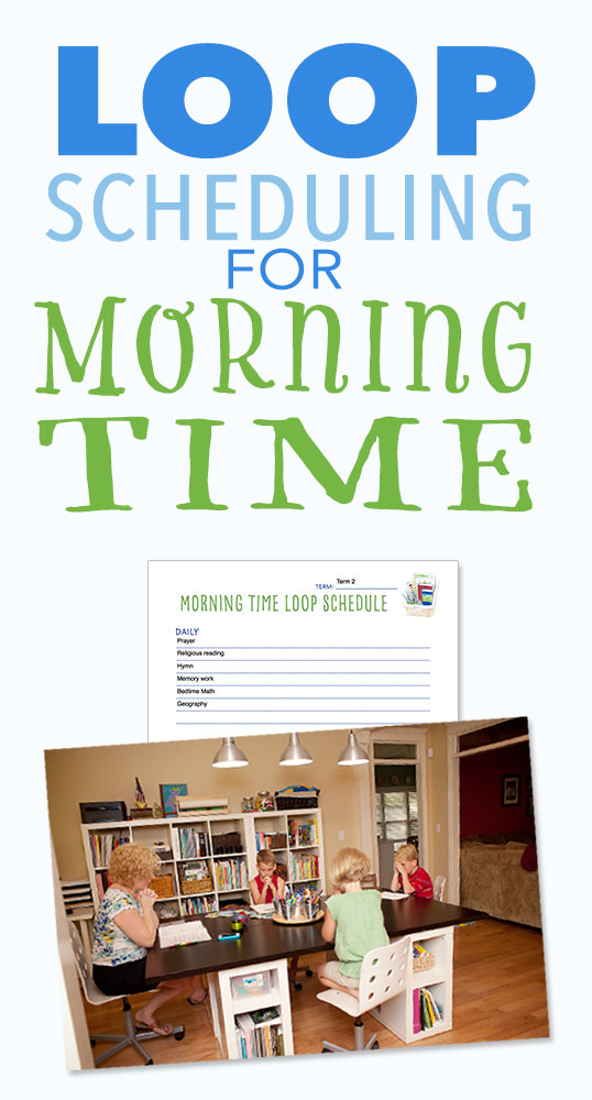 Loop Scheduling for Morning Time Pam Barnhill Homeschool Solutions