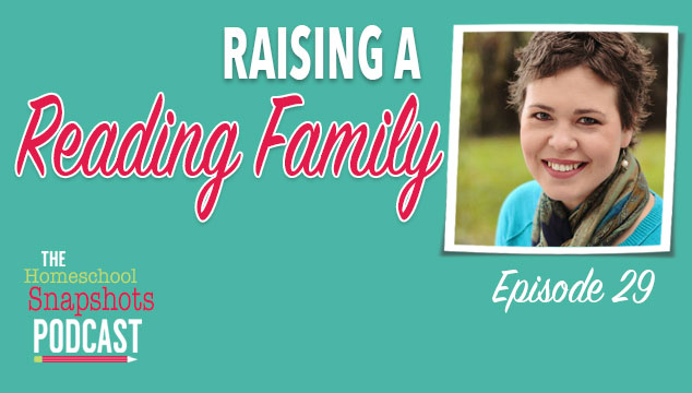 HSP 029 Heidi Scoval: Raising a Reading Family Feature