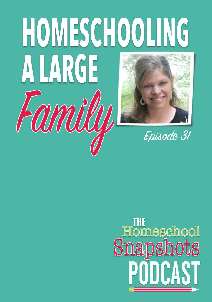 HSP 31 Amy Roberts: Homeschooling a Large Family