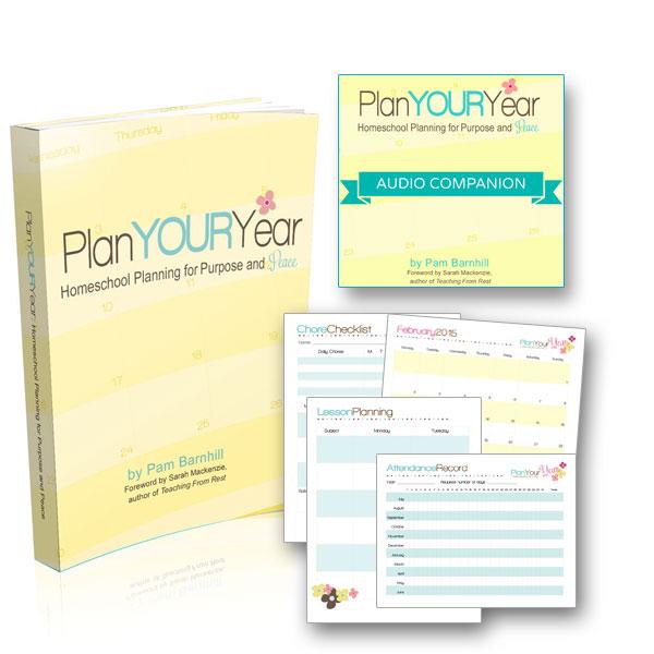 Plan Your Year Homeschool Planner