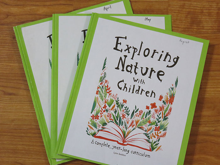 Exploring Nature with Children Notebooks