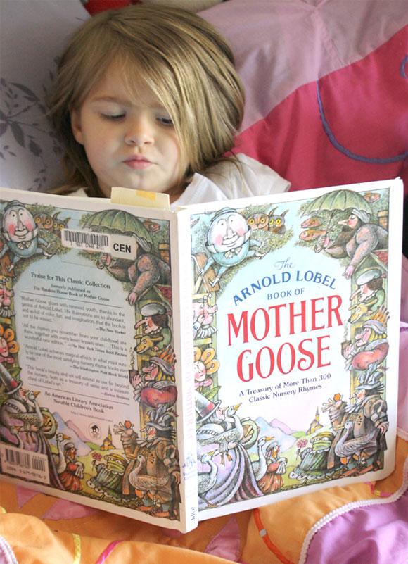 The Benefits of Nursery Rhymes on preschool development - reading
