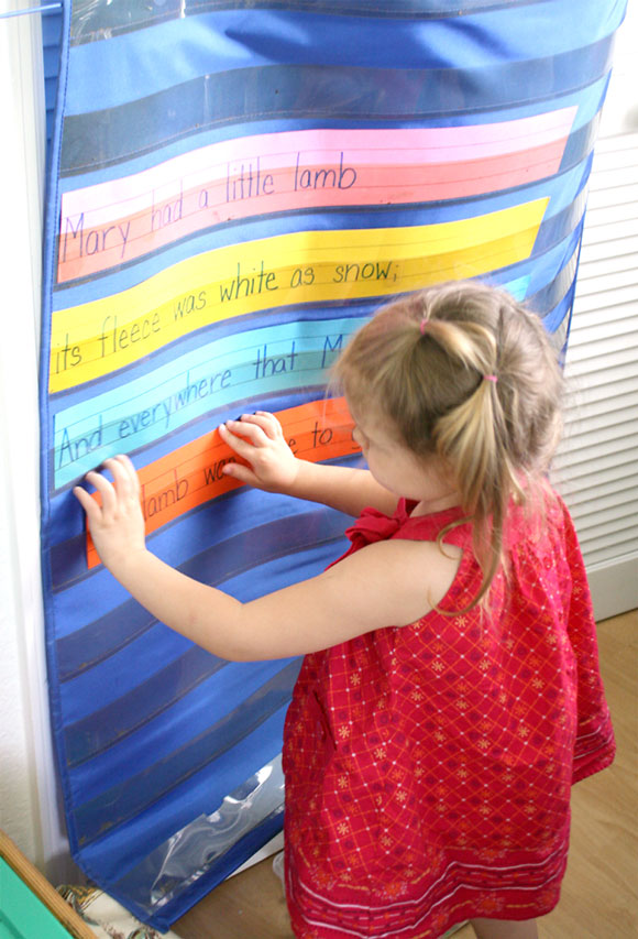 The Benefits of Nursery Rhymes on preschool development - language
