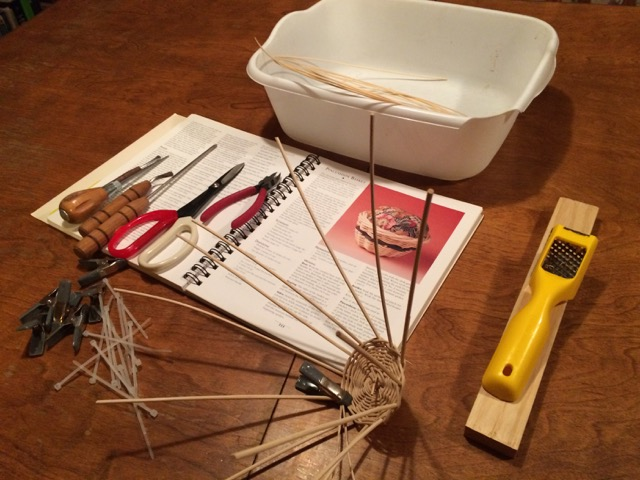Hobbies for Homeschool Moms Basket Weaving