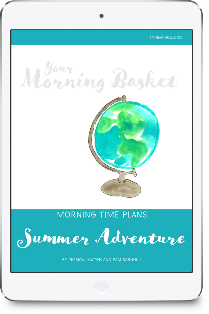 Three weeks of pre-made Morning Time plans based on the Traveling Through the Pages Summer Adventure reading program. Bring beauty (and fun!) to your homeschool with poetry, fine arts, nature study, good books, and so much more -- all prepared for you with your choice of a grid or loop schedule to follow.
