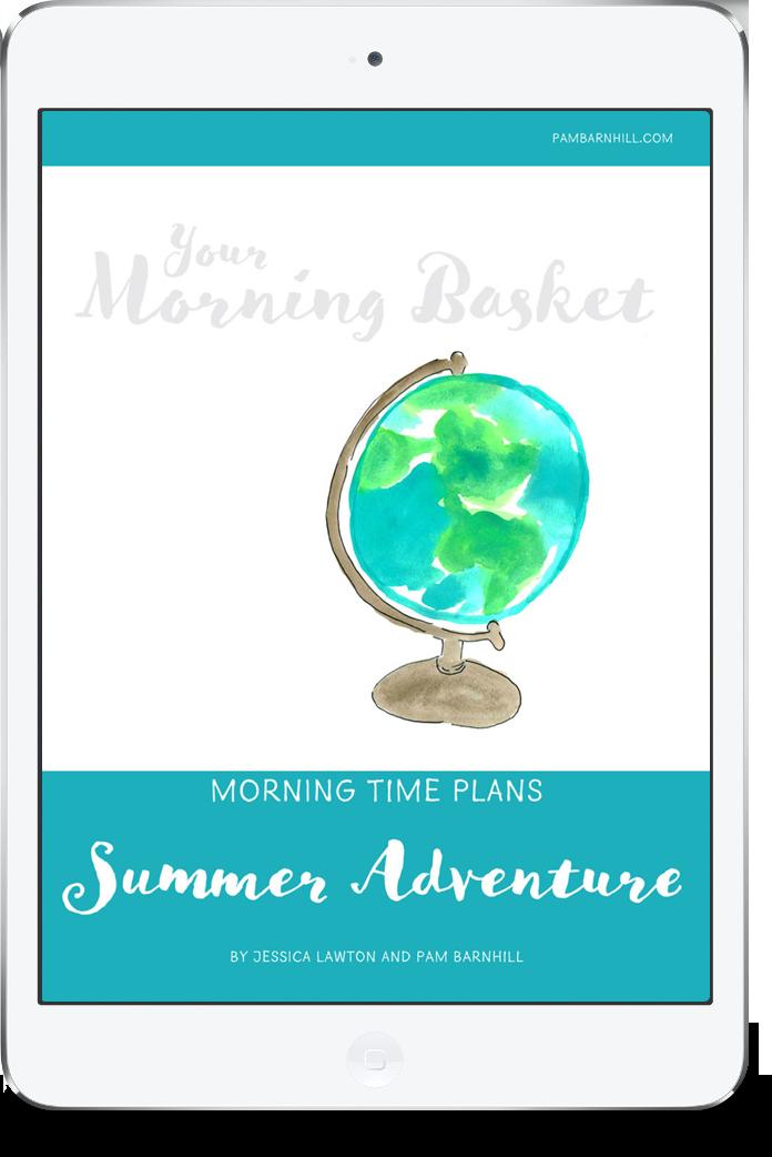 Summer Adventure Morning Time Plans