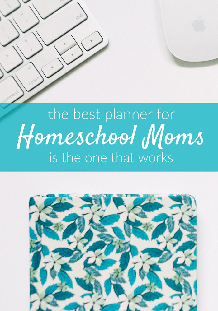 How do you know which is the best homeschool planner for you? The answer is easier than you might think.