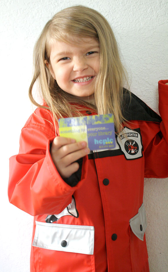 Preschoolers Need a Library Card