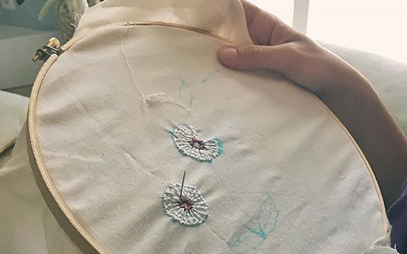 Embroidery with Sarah Lashbrook: Learning, Knowing, Creating Hobbies for Homeschool Moms