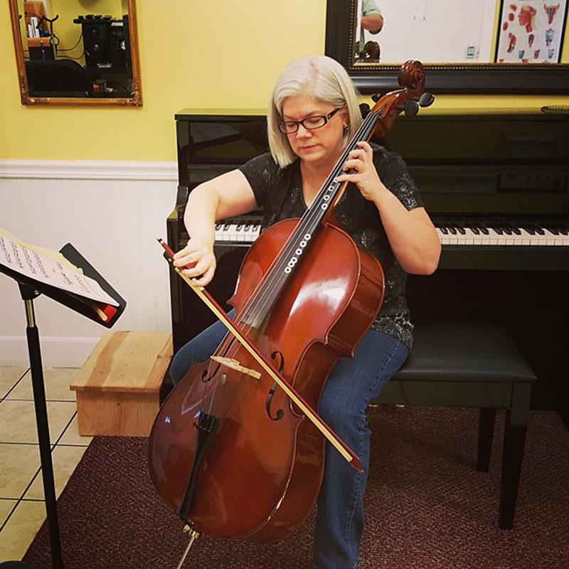 Hobbies for Homeschool Moms Cello