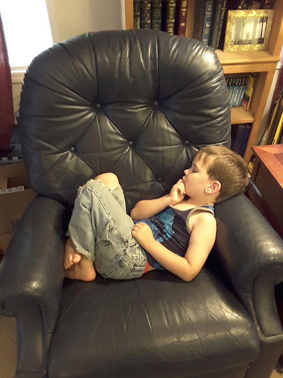 An Argument for Finding the Bare Minimum in Your Homeschooling Sleep