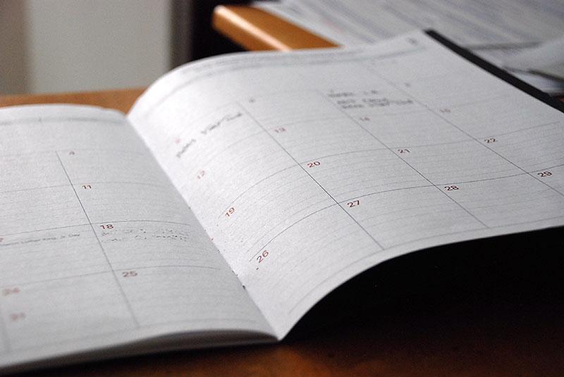 Time Management for Homeschool Teens Calendar