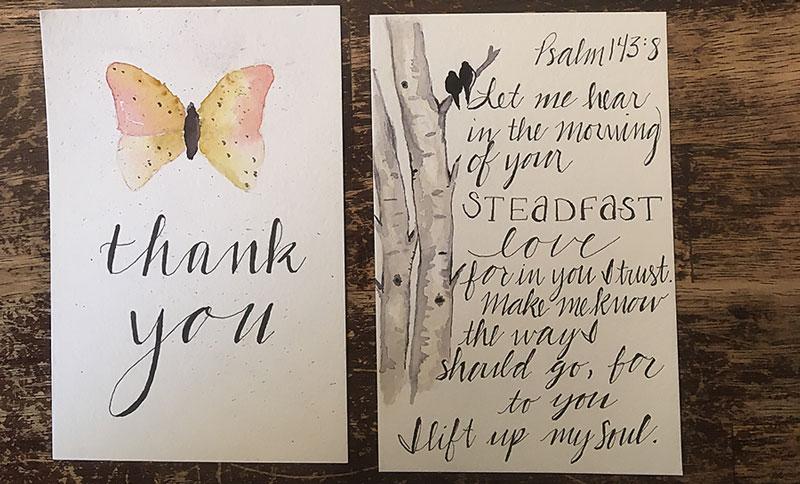 Handlettering Hobby for Homeschool Moms