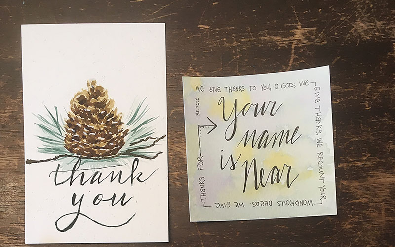 Hand Lettering with Heather Suemnicht: Learning, Knowing, Creating Hobbies for Homeschool Moms