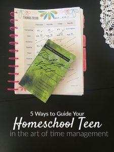 Time Management for Homeschool Teens