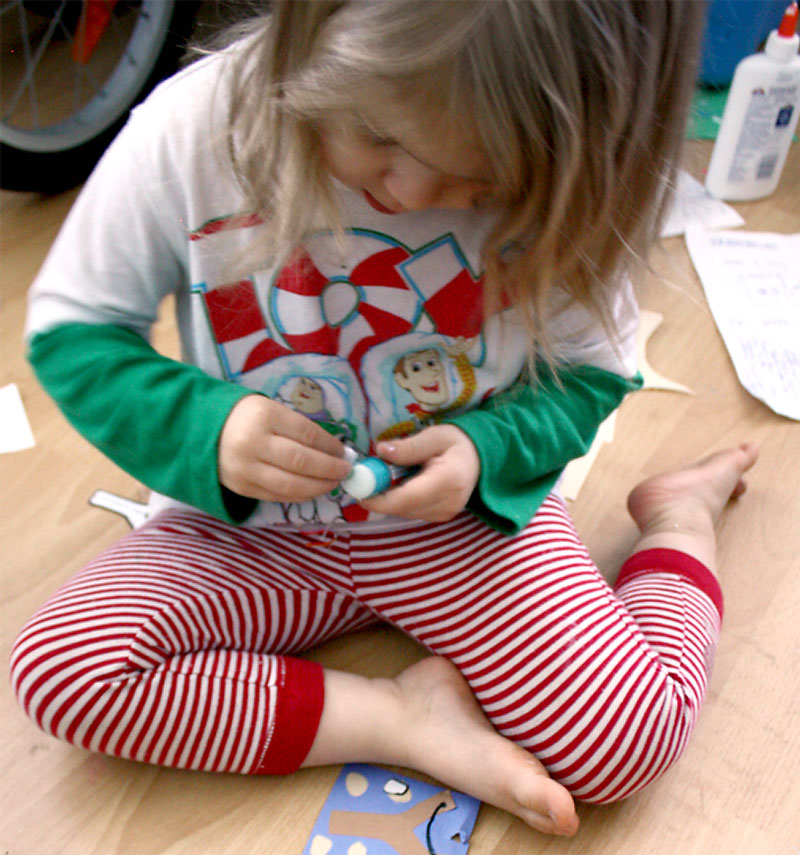 The Blessings of Holiday Traditions for Preschoolers Craft