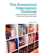 homeschool organization challenge