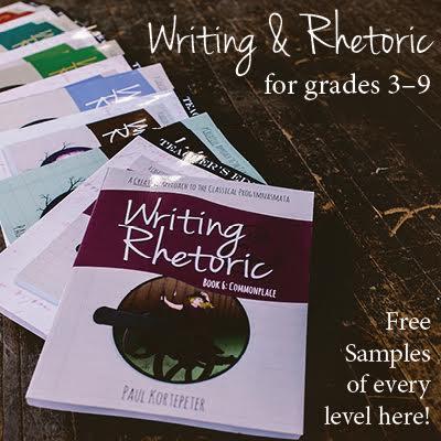 Classical Academic Press Writing and Rhetoric Image