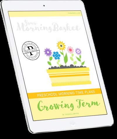 Preschool Growing Term Cover