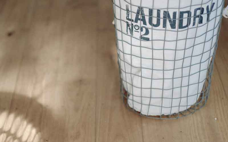 Proactive Homeschooling Laundry Basket
