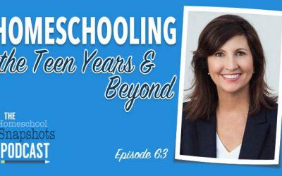 HSP 063 Connie Albers: Homeschooling the Teen Years & Beyond