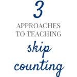 important math skill skip counting pam barnhill homeschool solutions