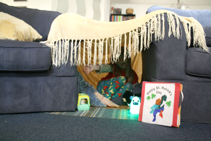 All Kids Should Build Forts!