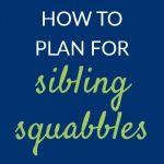 Sibling squabbles Pam Barnhill