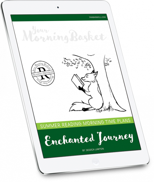 Enchanted Journey Summer Reading Morning Time Cover