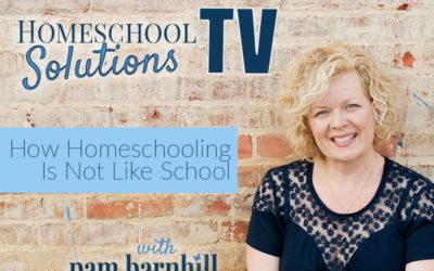 HSTV: How Homeschooling is Not Like School