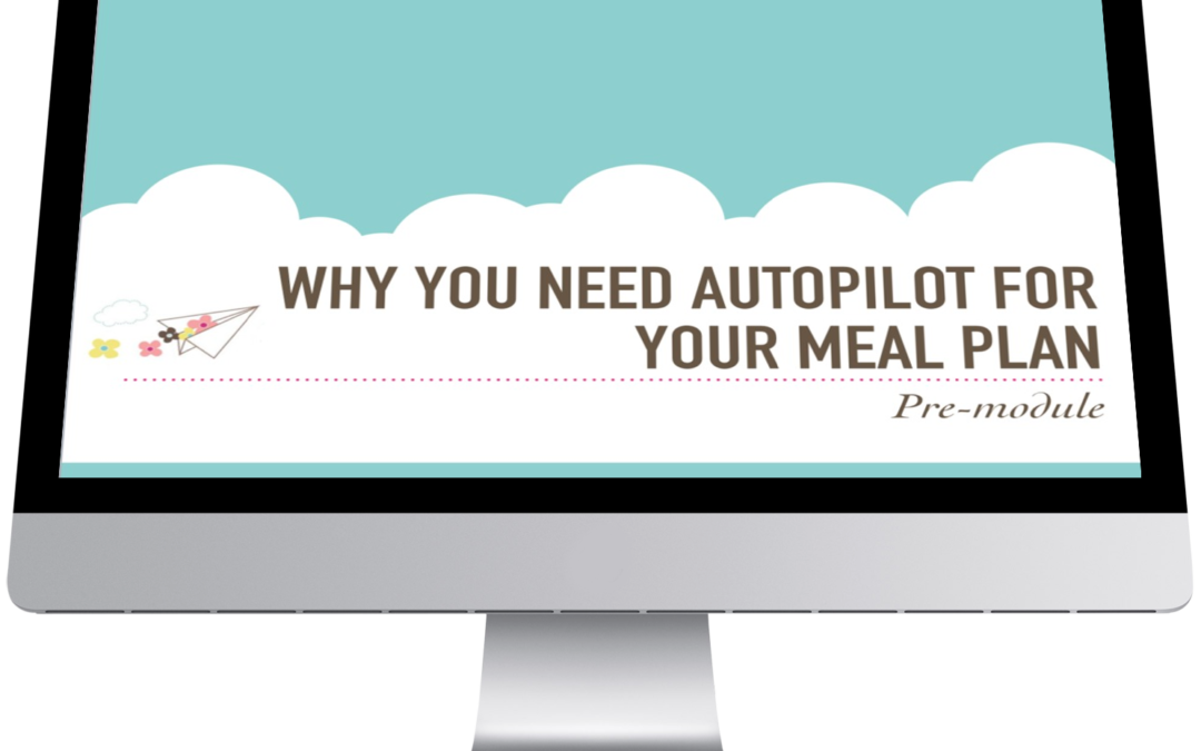 Put Your Meal Plan on Autopilot