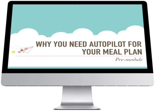 Put Your Meal Plan on Autopilot Graphic