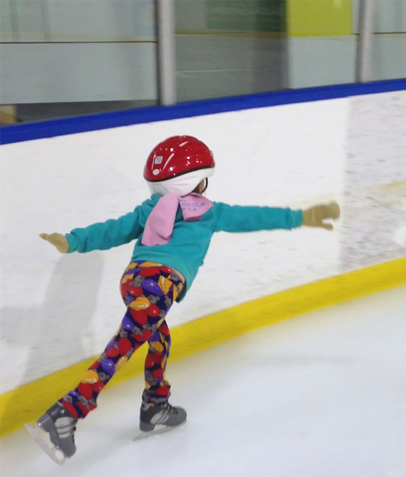 Containing Commitments for Preschoolers Ice Skating