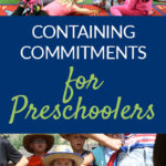 Containing Commitments for Preschoolers pin