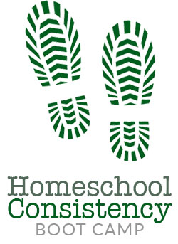 Homeschool Consistency Boot Camp Logo