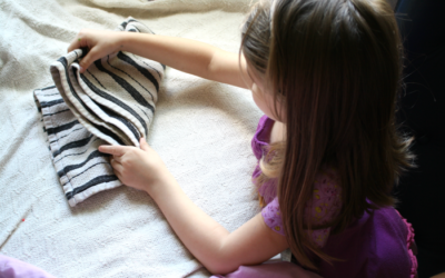 Children and Chores: Start 'Em Early!
