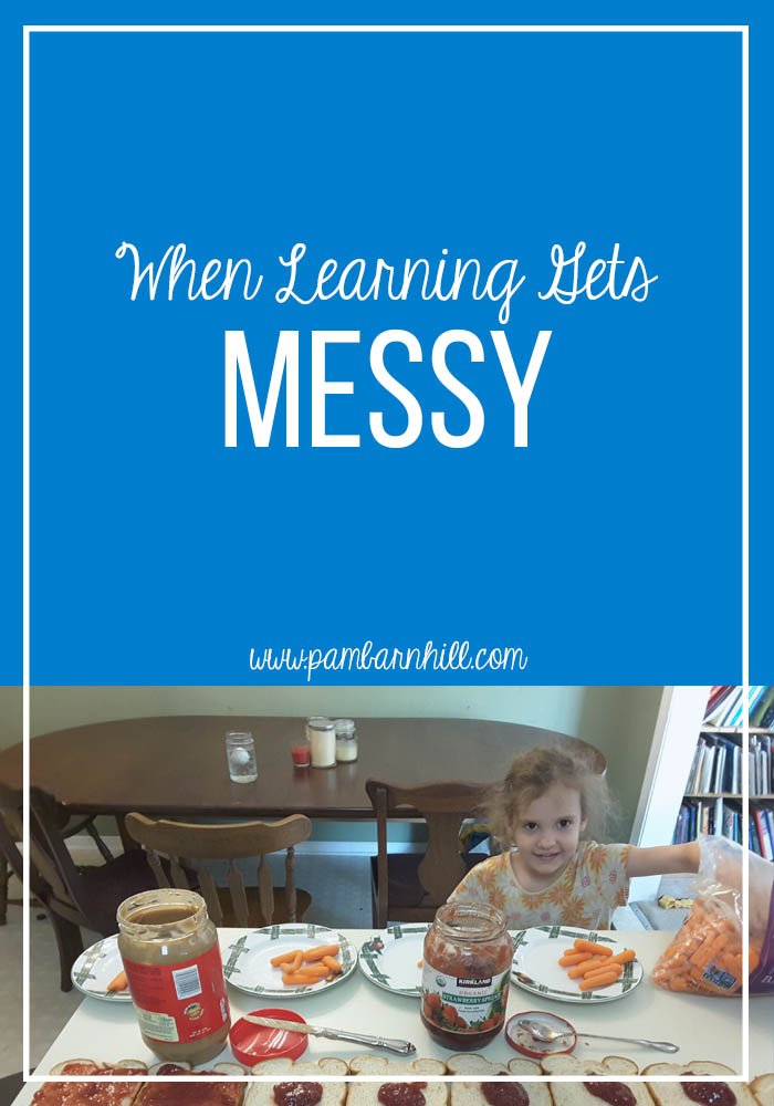 When Skill Learning Gets Messy