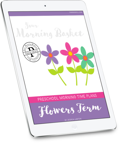 Flowers Term Preschool Plans