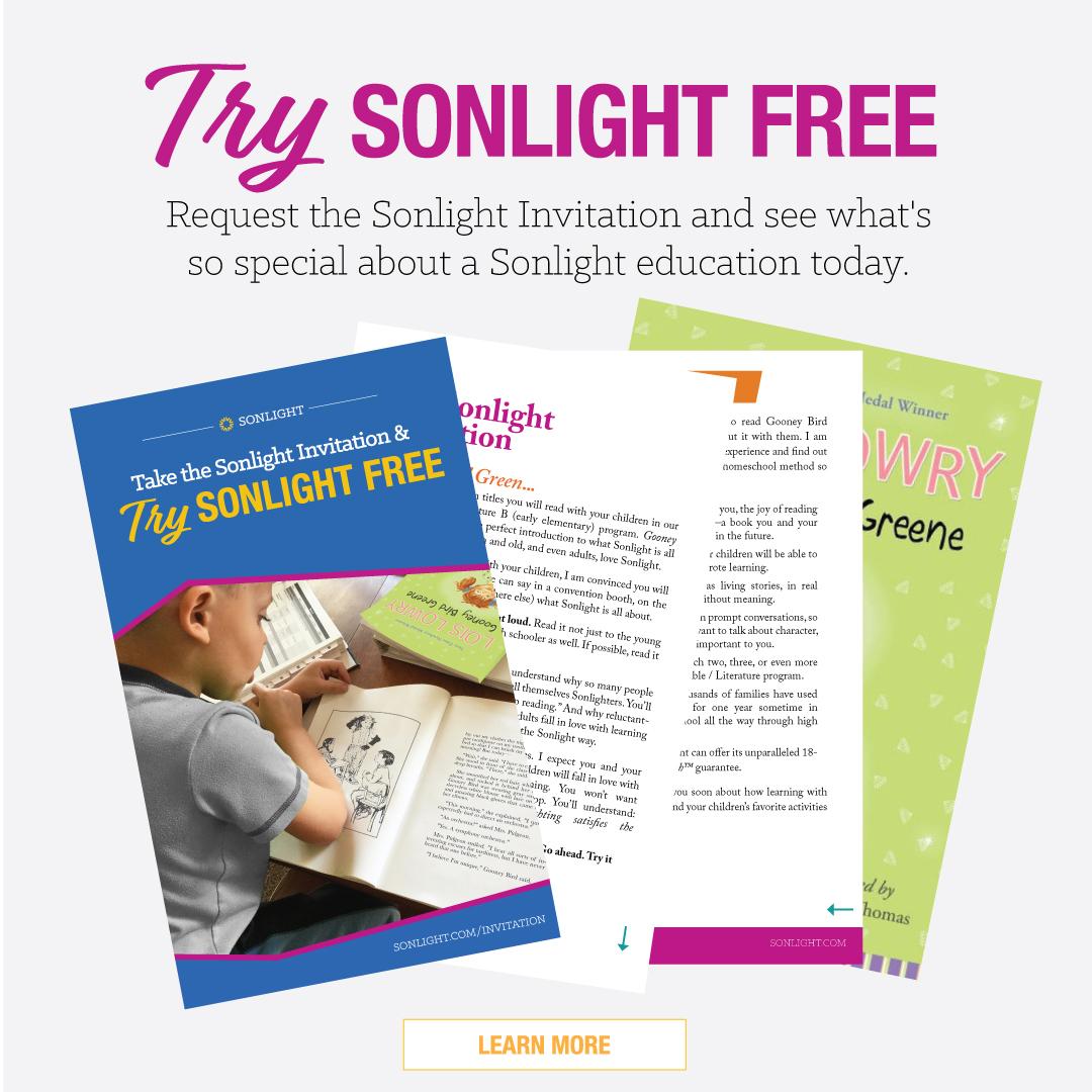 Sonlight Ad